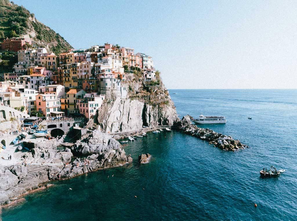 Playas Italia verano, Cinque Terre
