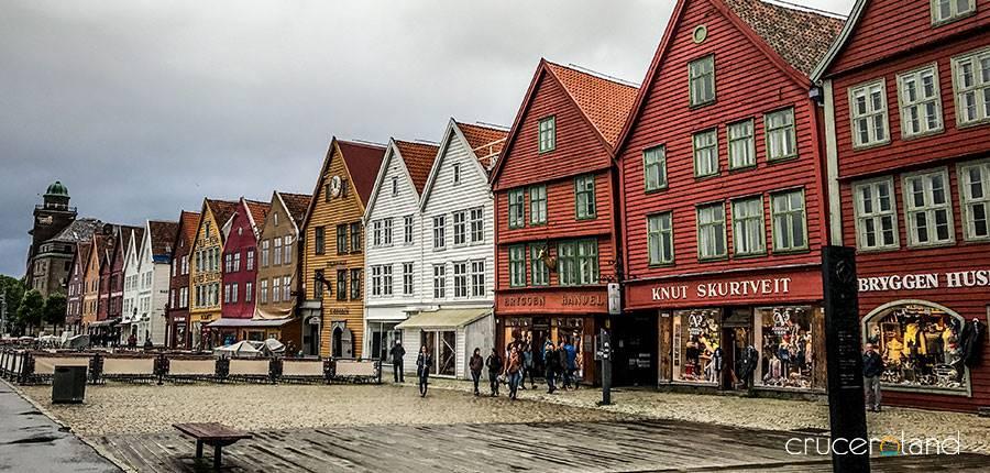 Puerto para cruceros Bergen
