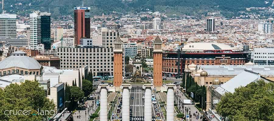 Crucero por el mediterraneo desde barcelona