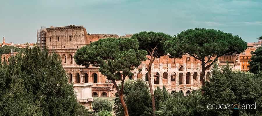 Crucero a Roma, viaje romántico mediterráneo