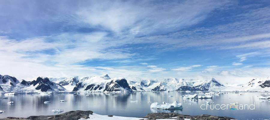 Viaje a la Antártida en crucero