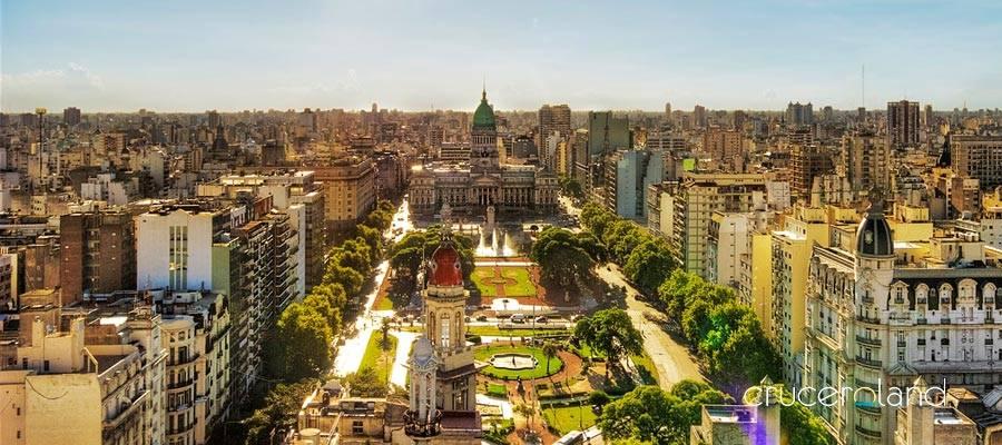 Crucero Sudamerica por Buenos Aires
