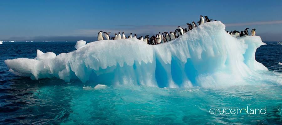 isla decepción ruta por la Antártida