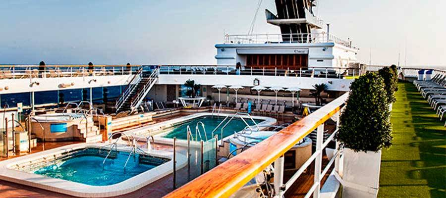 Piscinas y fitness Horizon Pullmantur