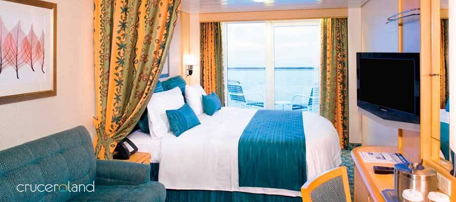 Camarote con balcón Royal Caribbean