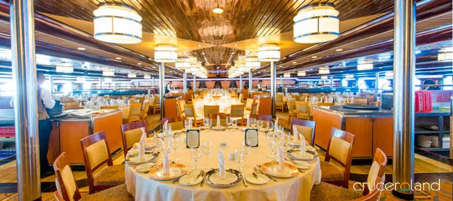 Restaurantes a bordo Carnival Sensation