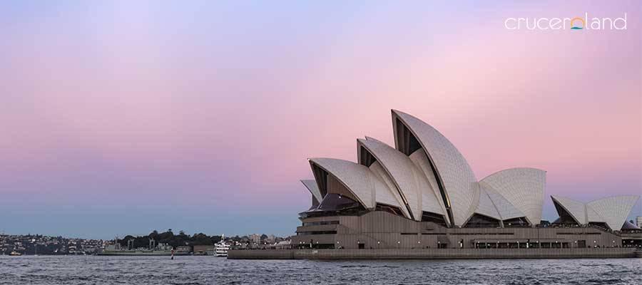 Crucero Australia salida Sidney