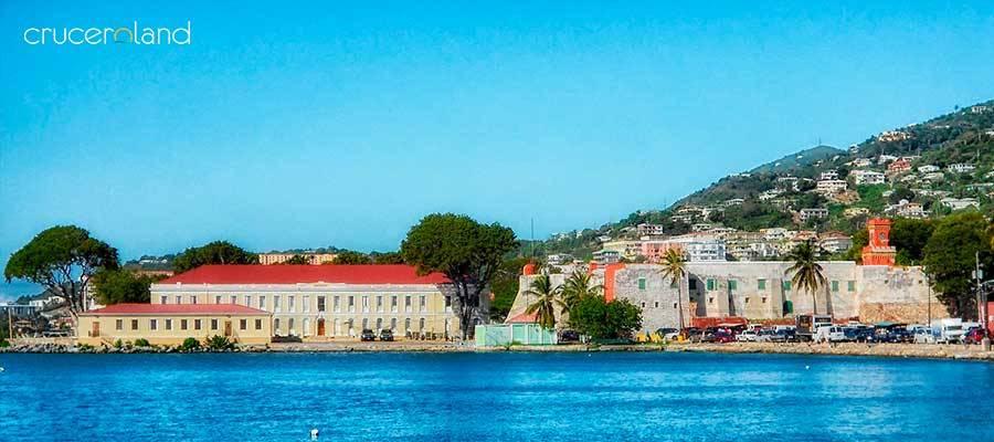 Crucero Caribe St Thomas