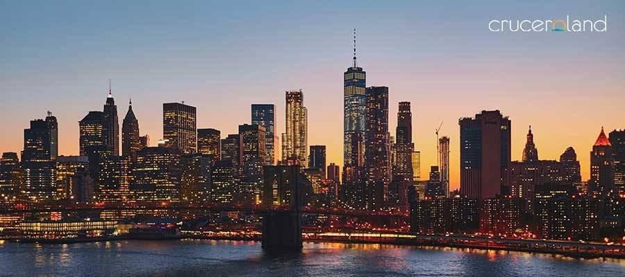 Crucero por Estados unidos en Nueva york
