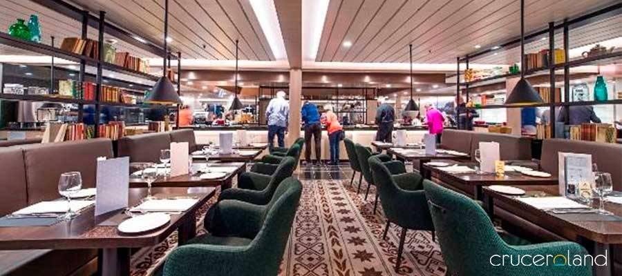 Crucero Hurtigruten Restaurante