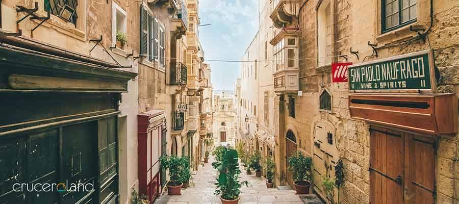 Crucero Mediterráneo MSC por Malta