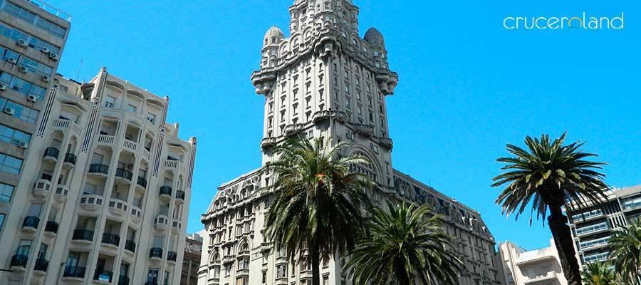 Crucero por Sudamérica salida de Montevideo