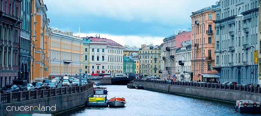 Crucero por el Norte de Europa, en Rusia