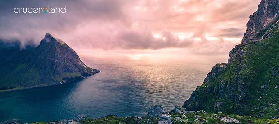 Crucero fiordos noruegos de Hurtigruten
