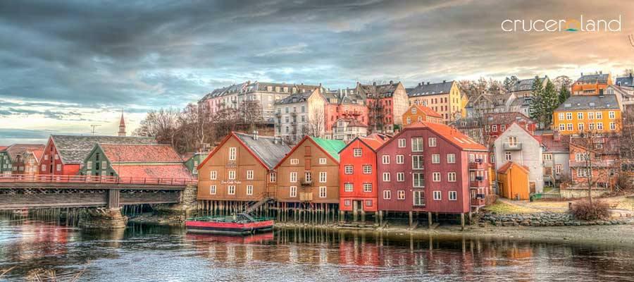 Crucero por Noruega en Trondheim