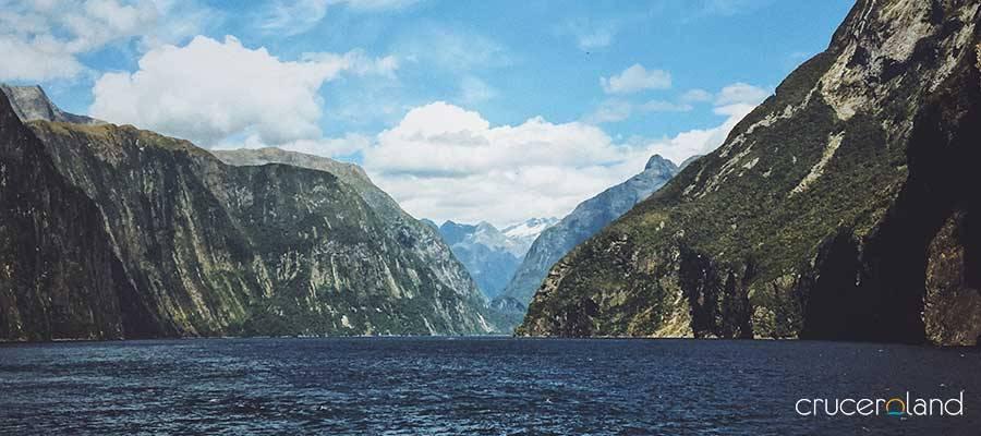 Crucero Nueva Zelanda en Milford Sound