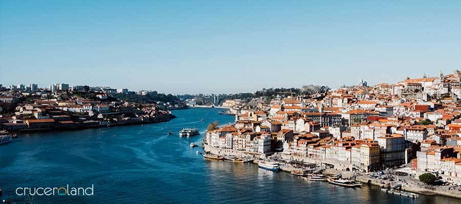 Crucero por Portugal con parada Oporto