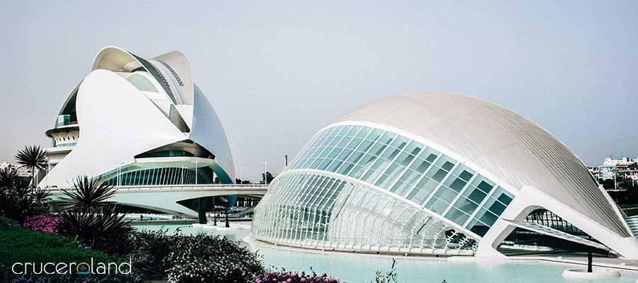 Crucero Mediterráneo por Valencia