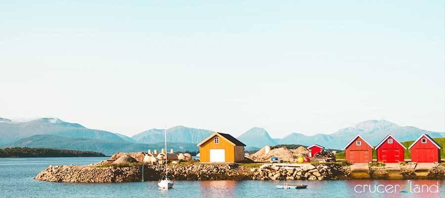Crucero noruega en Floro con Hurtigruten