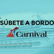 Experiencia viajar en crucero Carnival