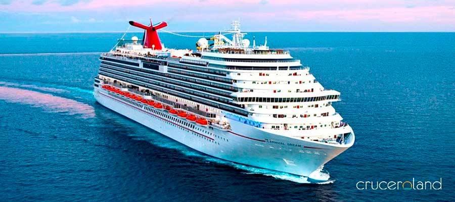 Flota de barcos crucero Carnival