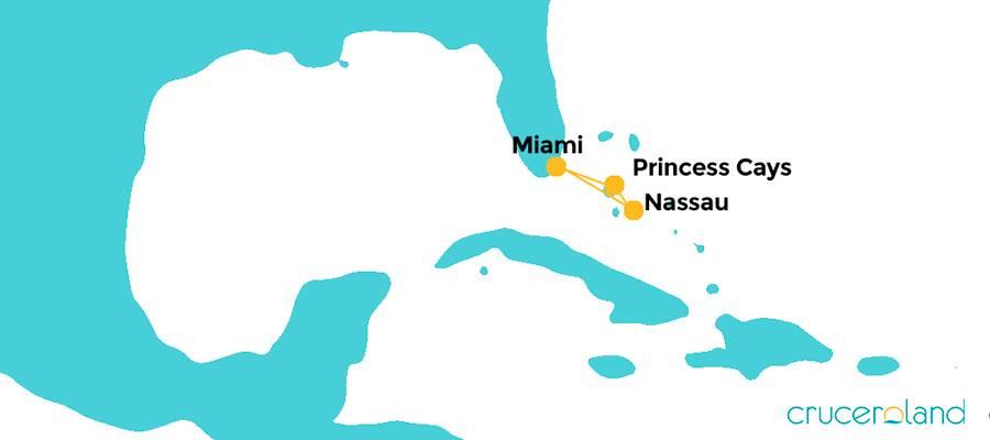 Mini crucero por las Bahamas