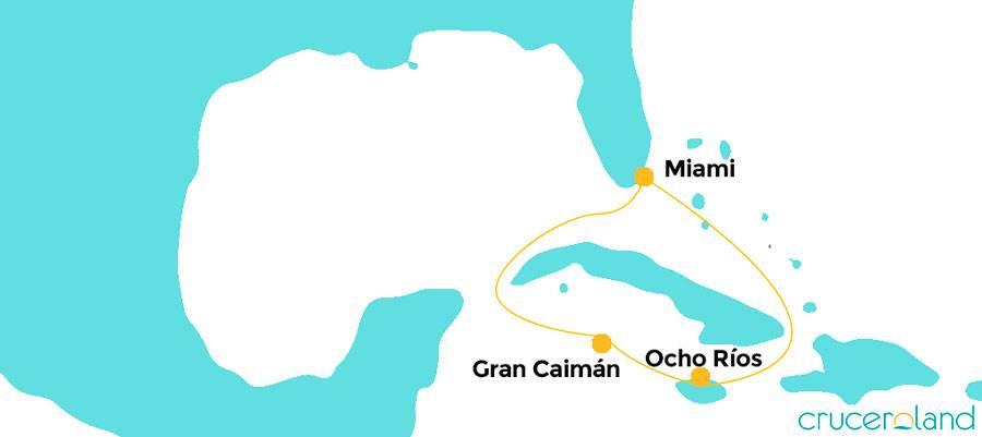 Mini crucero por Jamaica e Islas Caimán