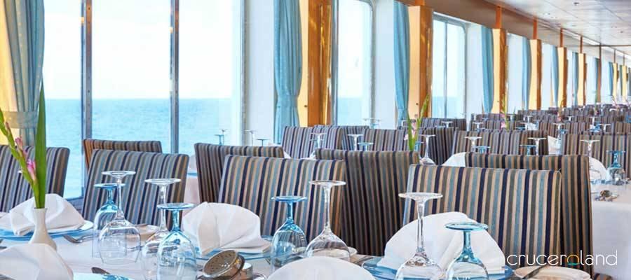 Restaurantes y gastronomí a bordo del Celestyal Crystal