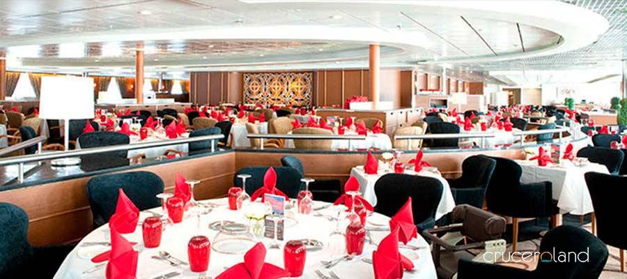 Restaurantes a bordo del Horizon de Pullmantur