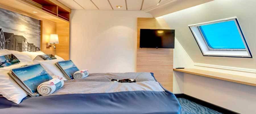 Cabina suite expedition de Hurtigruten