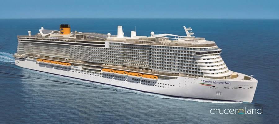 La mayor oferta de viajes de Costa Cruceros