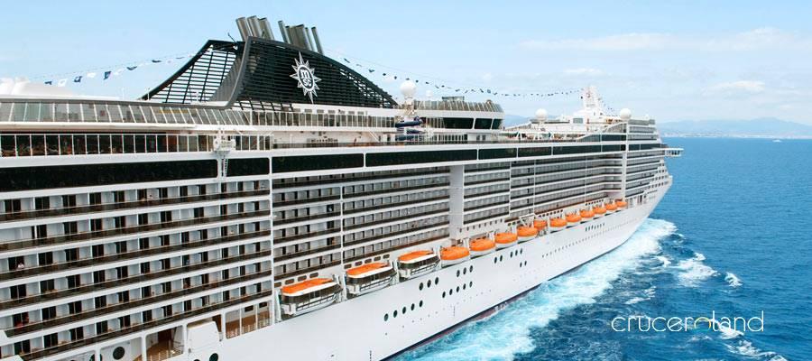 MSC cruceros viaja al mejor precio