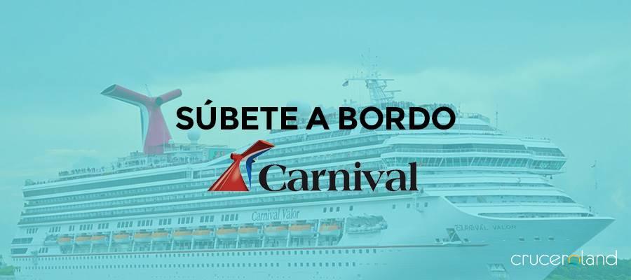 cruceros carnival, ofertas y destinos