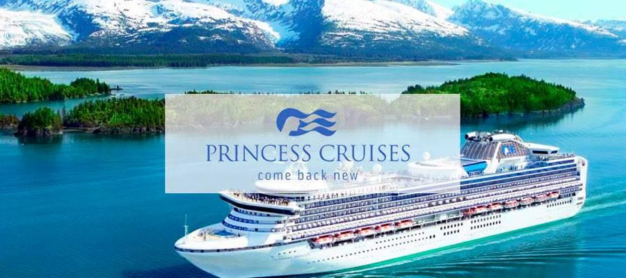 Compañía Princess Cruises, cruceros alrededor del mundo