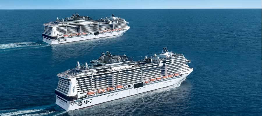 Flota de barcos de MSC Cruceros