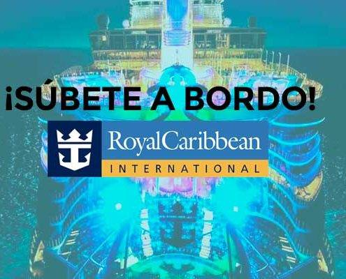Toda información cruceros Royal Caribbean