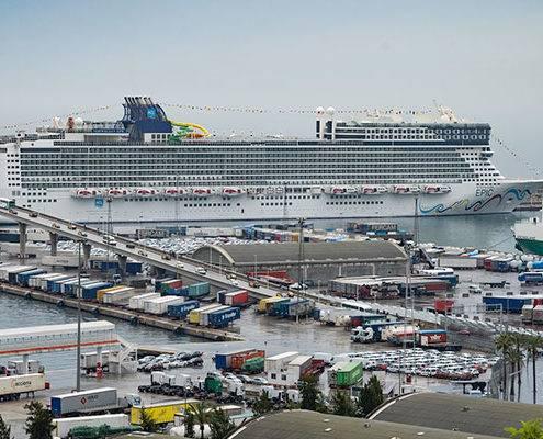 Terminales de crucero en España